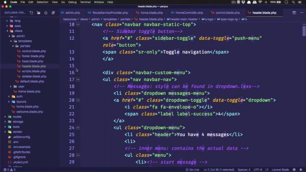Screenshot Materi Kelas Online Membuat Sistem Informasi Perpustakaan Menggunakan Laravel 6