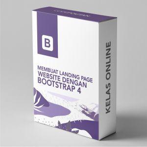 Membuat Landing Page Website dengan Bootstrap 4