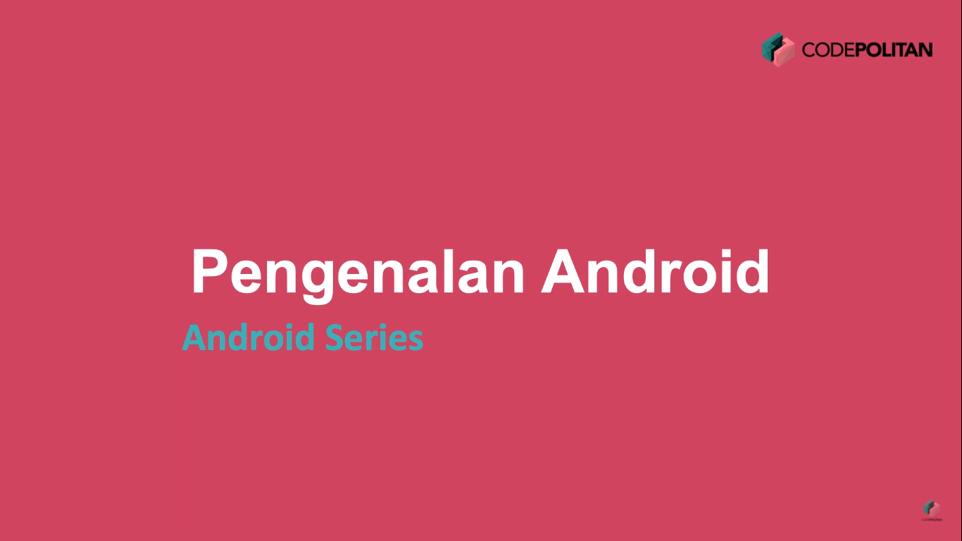 Screenshot Materi Kelas Online Android Development Starter Pack